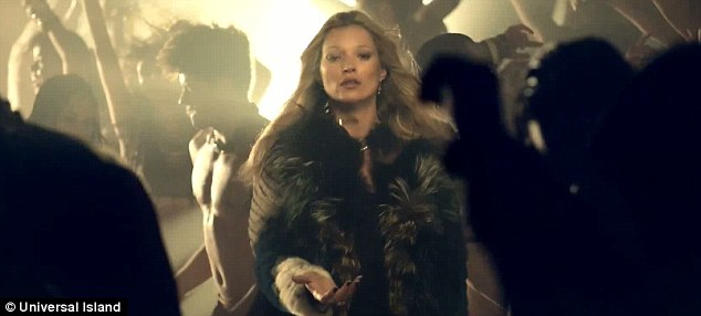 Kate Moss featured on George Michael's White Light music video