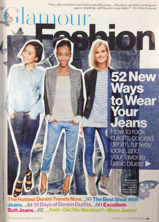 Glamour magazine makes a major faux pas