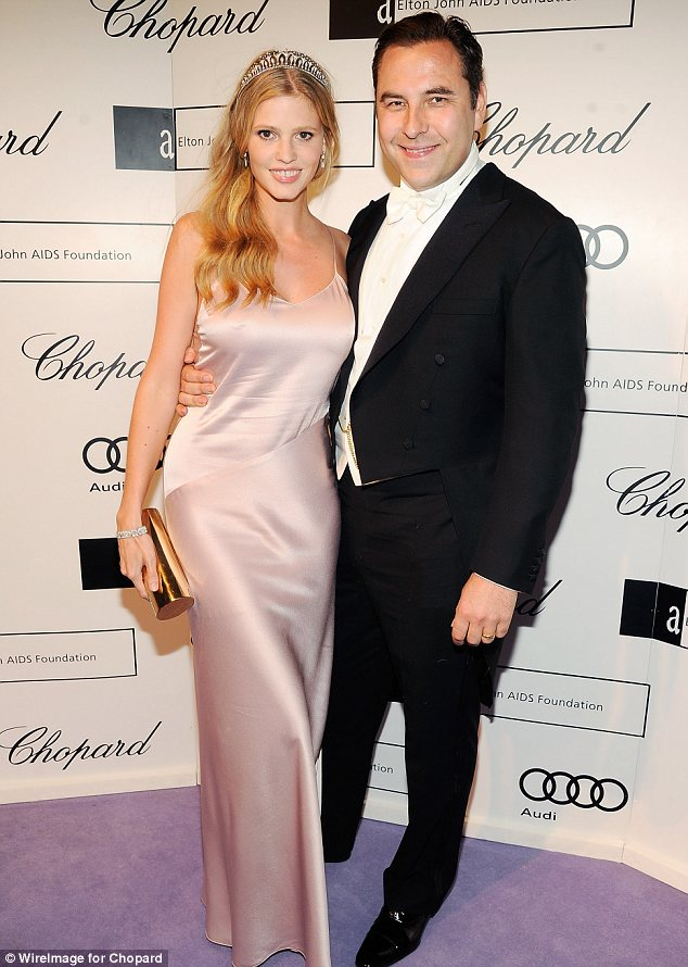 David Walliams and Lara Stone at it again!