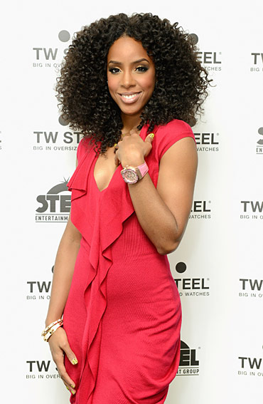 TW Steel Hosts Kelly Rowland Launch Party Watch Brand Celebrates Star's Debut Timepieces