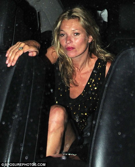"""Work Ethics"" according to Kate Moss"
