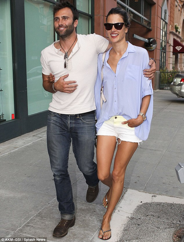 Love is in the air for Alessandra Ambrosio and Jamie Mazur