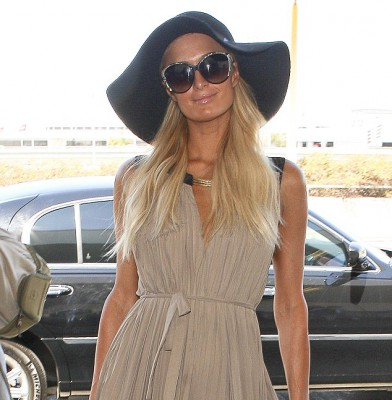 Paris Hilton makes a glamorous exit out of LAX and on to China