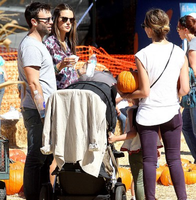 It's pumpkin patch time in Hollywood
