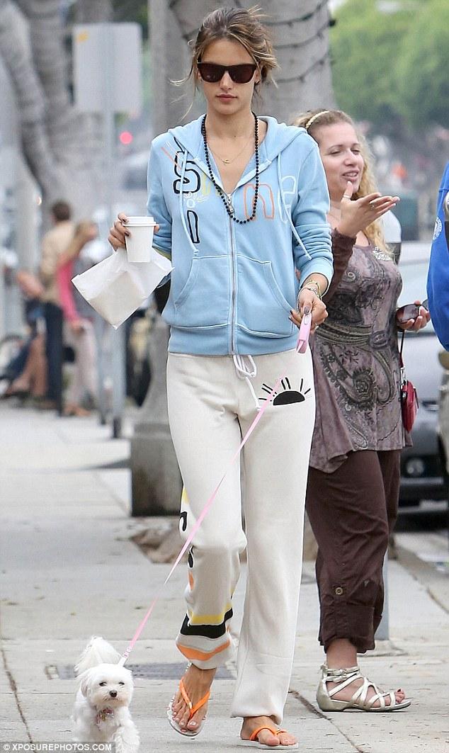 Alessandra Ambrosio looks good in any light!