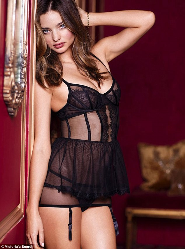 Miranda Kerr unveils her perfect body in new Victoria's Secret lingerie campaign