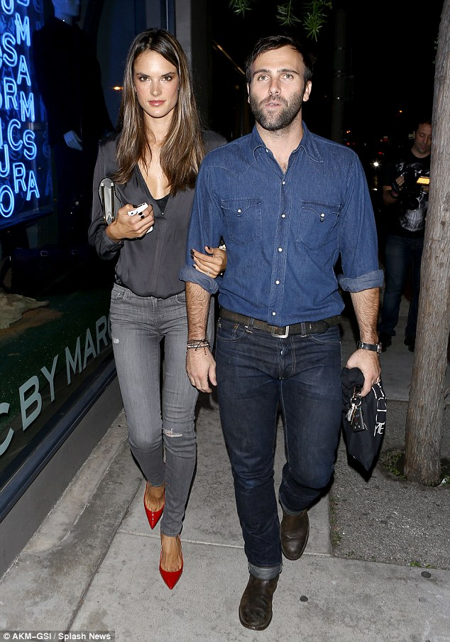 Where do supermodels go on a date night?