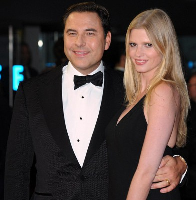 David Walliams steps out with wife Lara Stone and mum Kathleen for Great Expectations premiere