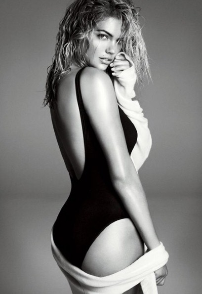 Kate Upton makes it to second Vogue shoot and proves she's got high-fashion power