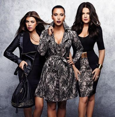 """Kardashians stormed into London to promote their """"Kardashian"""" Kollektion"""