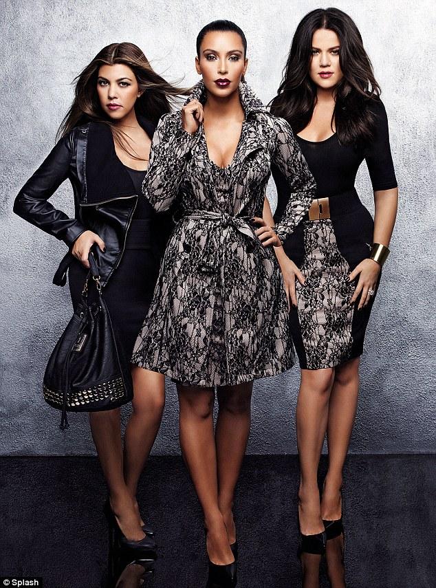 Kardashians stormed into London to promote their �Kardashian� Kollektion
