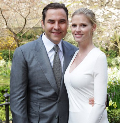 David Walliams and wife Lara Stone are expecting