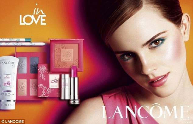 Emma Watson fronts new Lancome campaign