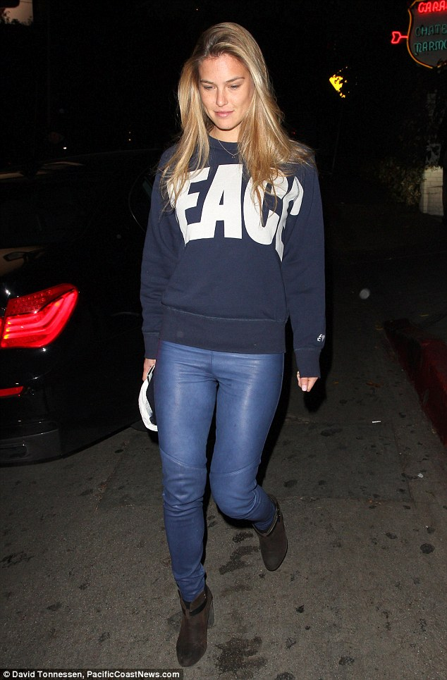 Bar Refaeli goes out make-up free