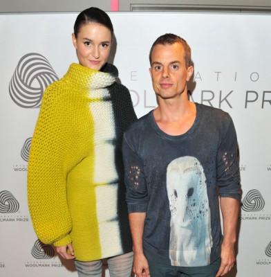 London Fashion Week – Fashion Awards – Woolmark Prize 2013
