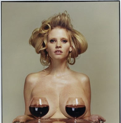 Lara Stone does an interesting but quirky shoot