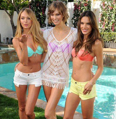 Victoria�s Secret angels gather to tout new collection