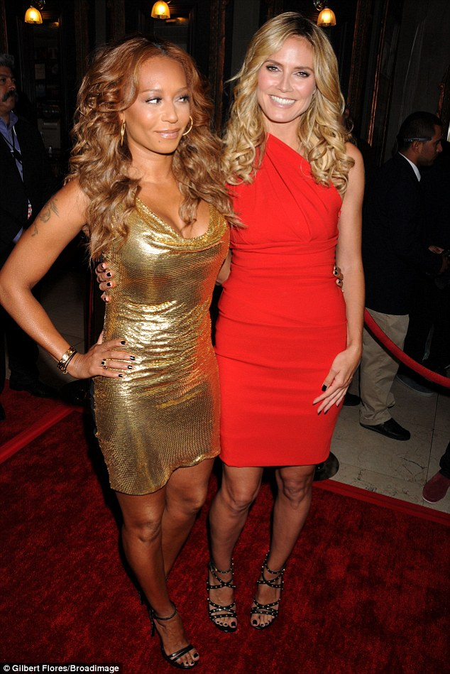 It's game on for Heidi Klum and Mel B!