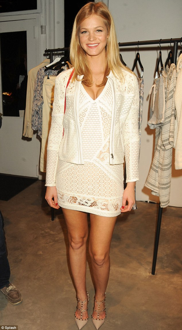 erin heatherton was as fresh as a daisy in white dress news the fmd