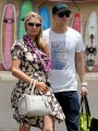 Paris Hilton arrived in Maui looking demure and ladylike