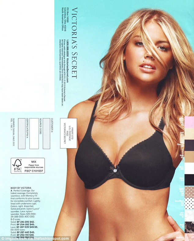 Is Kate Upton no longer the �page three girl?�