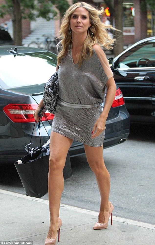 Heidi Klum has amazing legs!