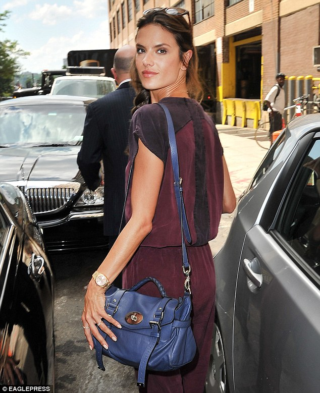 Style queen Alessandra Ambrosio ups her model perfect look