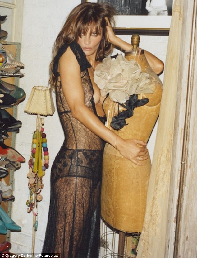 Helena Christensen puts 'the best body in the world' on display