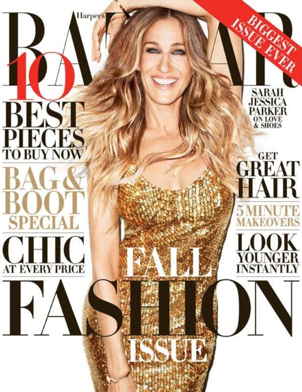Sarah Jessica Parker covers US Harper�s Bazaar Magazine