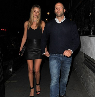 Rosie Huntington-Whiteley brings 'sexy back' on date night!