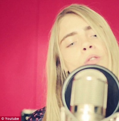 Cara Delevingne is a model with many talents!