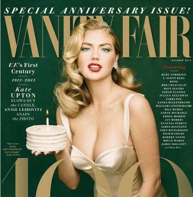 Kate Upton is Vanity Fair�s Golden Girl!