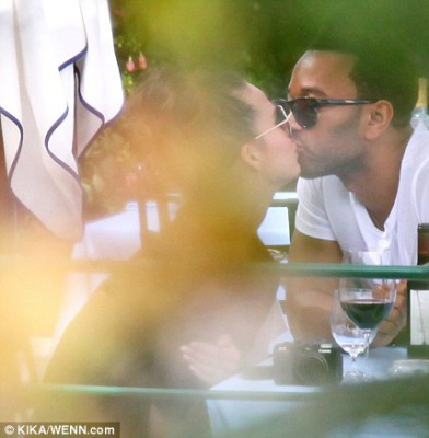 The honeymoon is on for newlyweds Chrissy Teigen and John Legend
