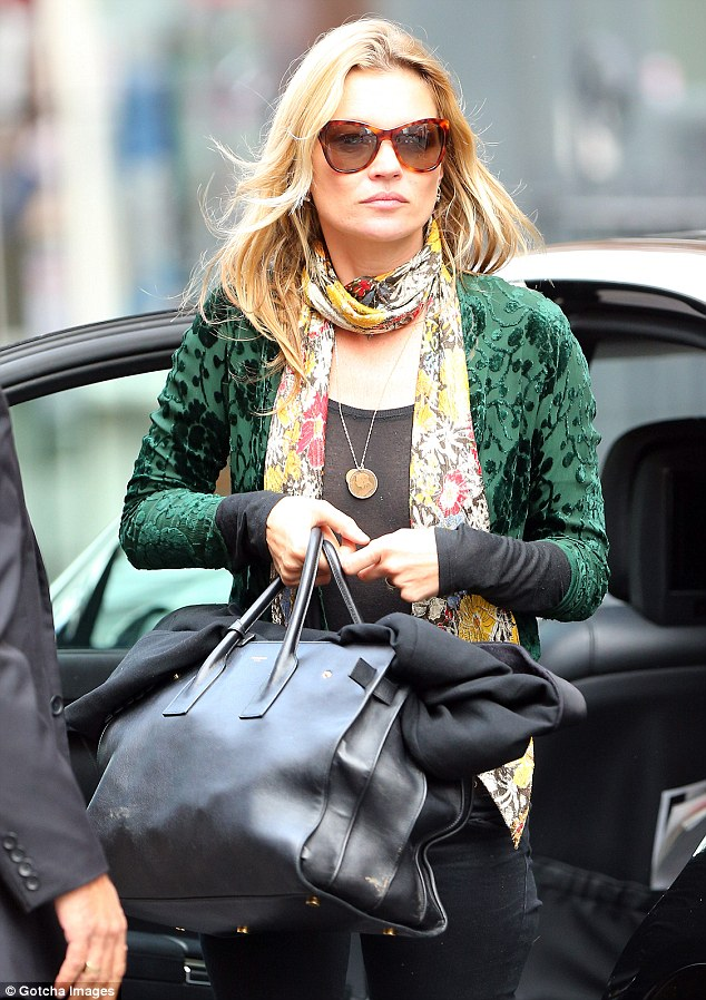 Kate Moss hypes up her style sense again