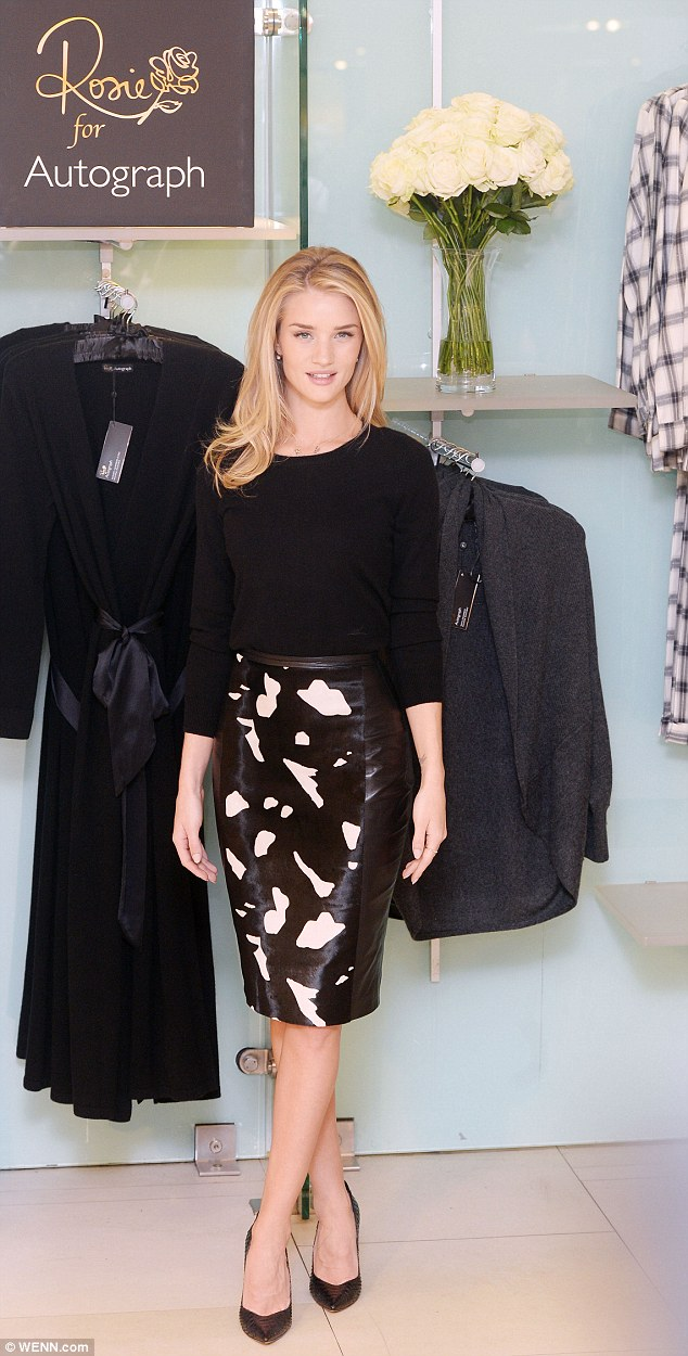 Rosie Huntington-Whiteley unveils her Autograph collection