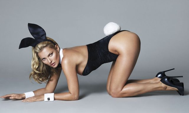 Kate Moss does Playboy