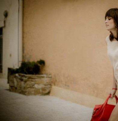 Alexa Chung and Le Pliage