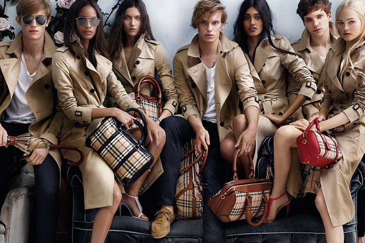 Burberry Spring/Summer 2014 campaign by Mario Testino