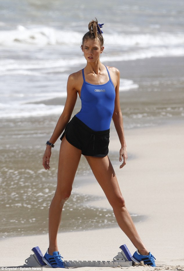 Karlie Kloss is fit to turn heads