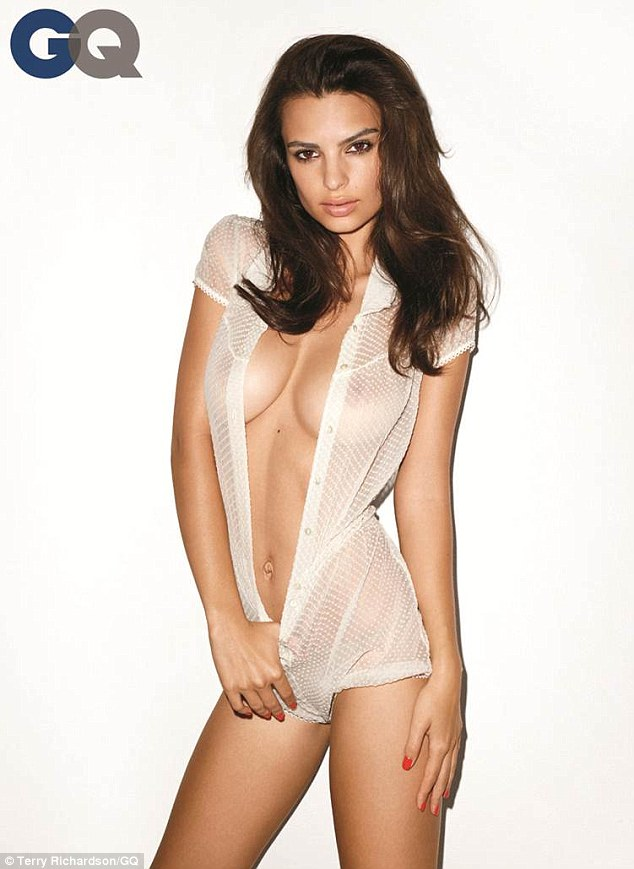 Emily Ratajkowski makes GQ's The Year in Babes list | News ...