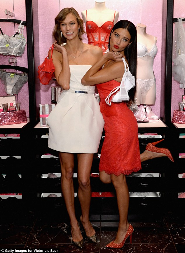 Adriana and Karlie are true Holiday delights