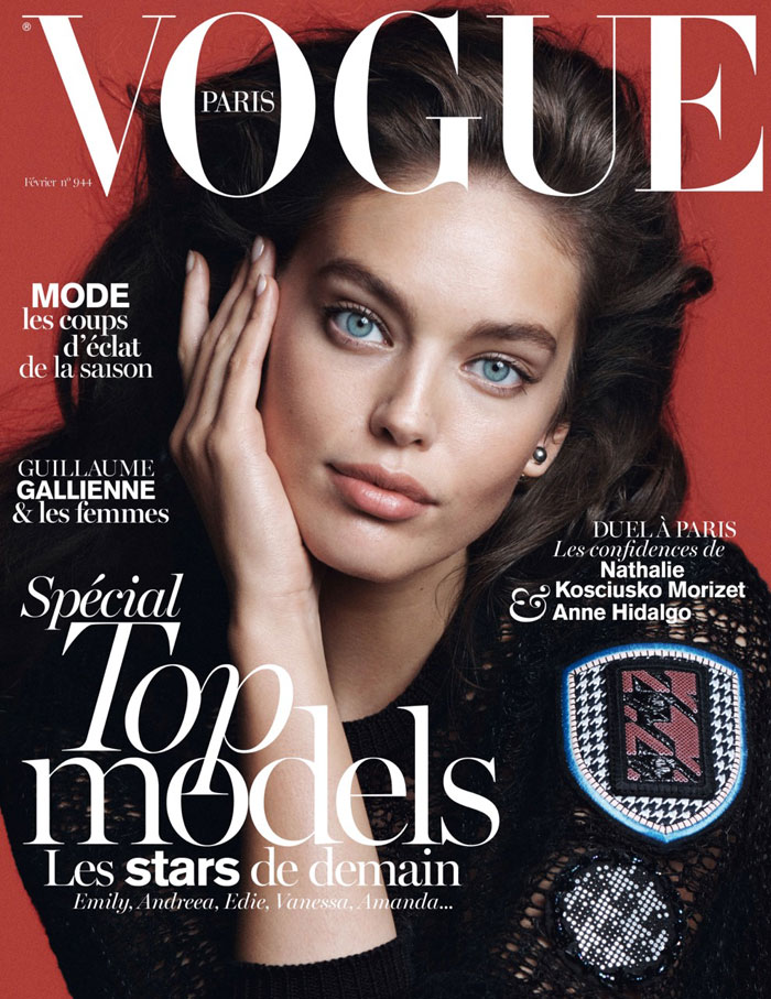 Doubly gorgeous for Vogue
