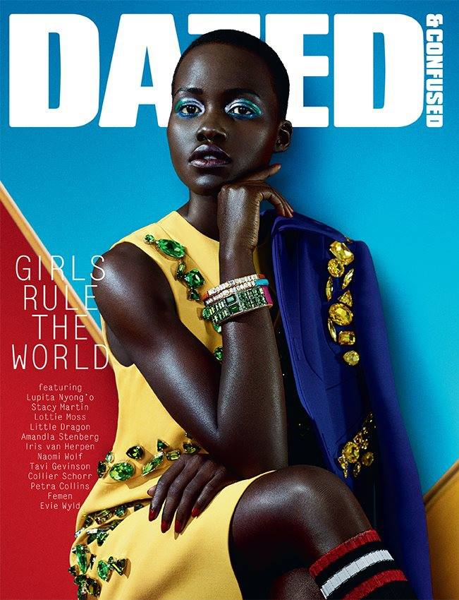 Lupita Nyong\'o wears Prada for Dazed & Confused