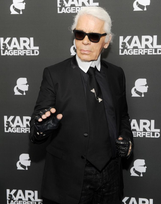 Coming auction of Karl Lagerfeld´s sketches for Tiziani