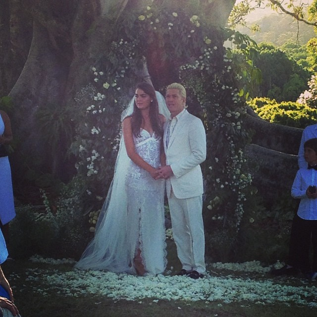 Bambi Northwood-Blyth is now a married woman