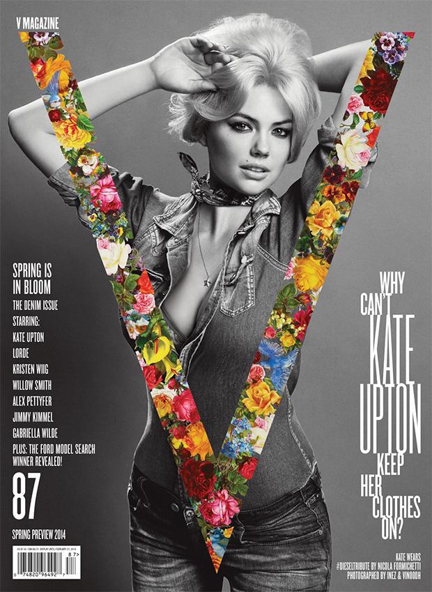Kate Upton covers V Magazine
