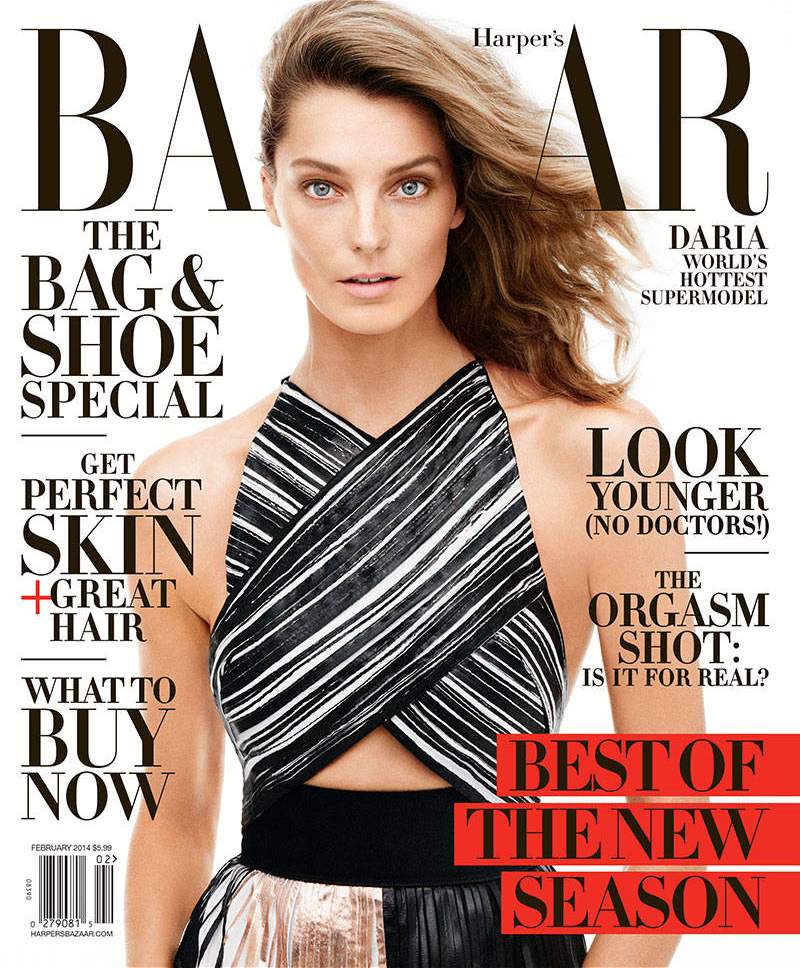 Harper\'s Bazaar interviews Daria Werbowy