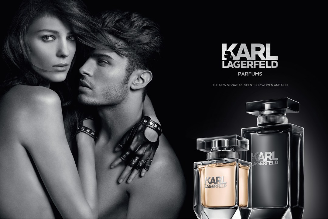 Karl Lagerfeld unveils new fragrances