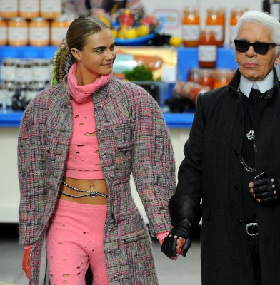 "Karl Lagerfeld: ""Cara is fashion\'s Charlie Chaplin"""