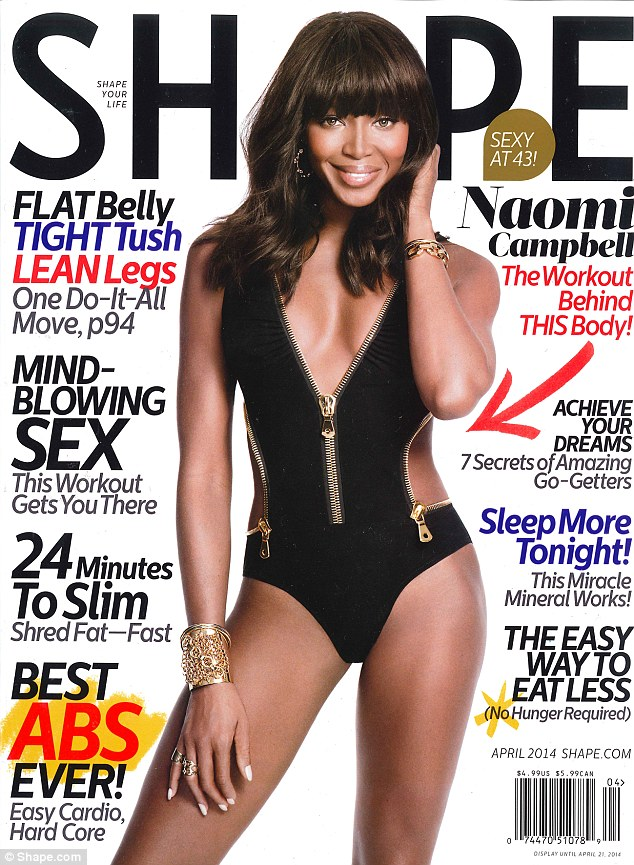 Naomi Campbell\'s still got it at 43